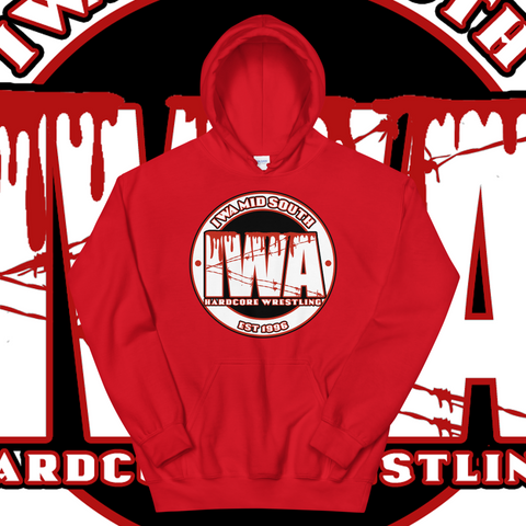 "IWA Mid-South ""EST 1996"" Pullover Hoodie"