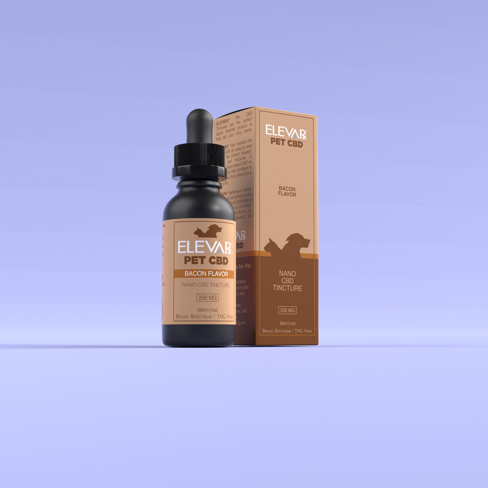 Pet CBD 250mg (Bacon Flavor Tincture)