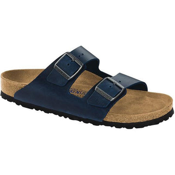 Womens Birkenstock Arizona Regular In Blue Oil