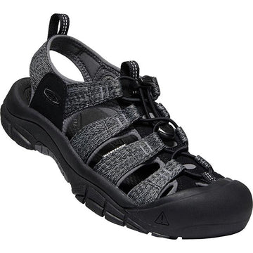 Men's Keen Newport H2 in Black/ Steel Grey sku: 1022252
