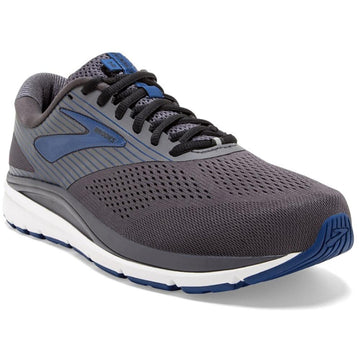 Men's Brooks Addiction 14 - Double Wide in Blackdpr/ Blu