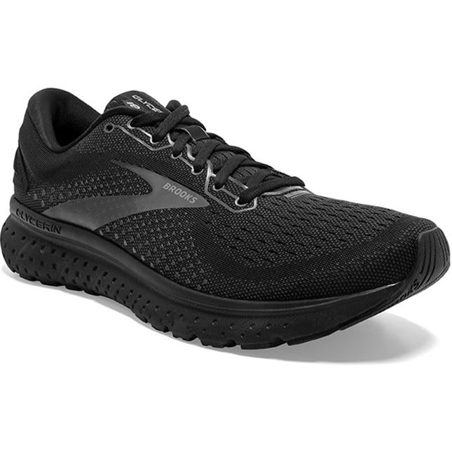 Men's Brooks Glycerin 18 in Black/ Ebony sku: 110329-071
