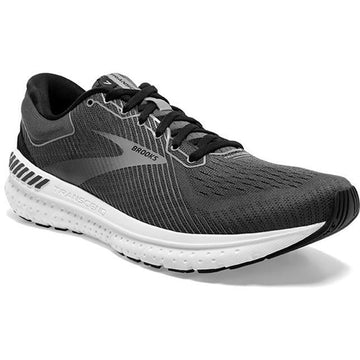 Men's Brooks Transcend 7 in Black/ Ebony/ Grey sku: 110331-051