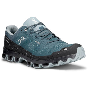 Men's On Running Cloudventure Waterproof in Storm/ Cobble sku: 22-99858