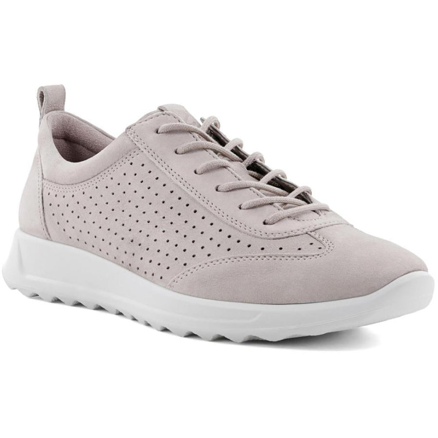 Women's ECCO Flexure Runner Perf Sneaker in Grey Rose