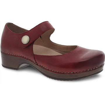 Women's Dansko Beatrice in Red Waxy Burnished sku: 9423-227800
