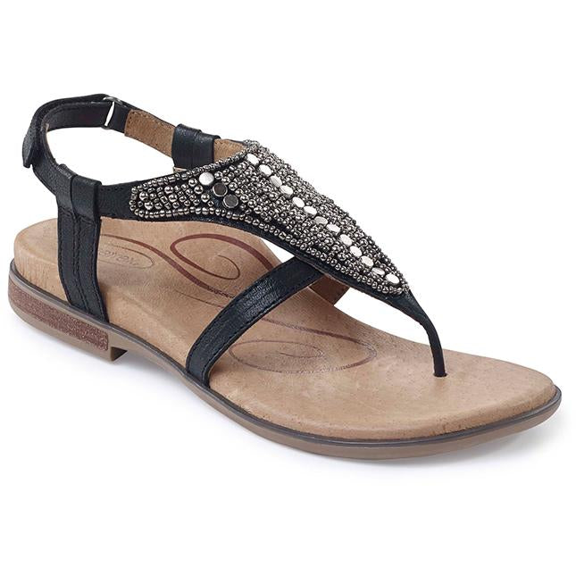 Womens Aetrex Shiela In Black