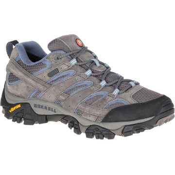Women's Merrell Moab 2 Waterproof Wide in Granite