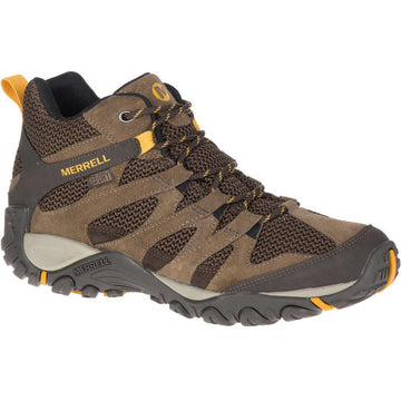 Men's Merrell Alverstone Hi Waterproof Wide in Stone