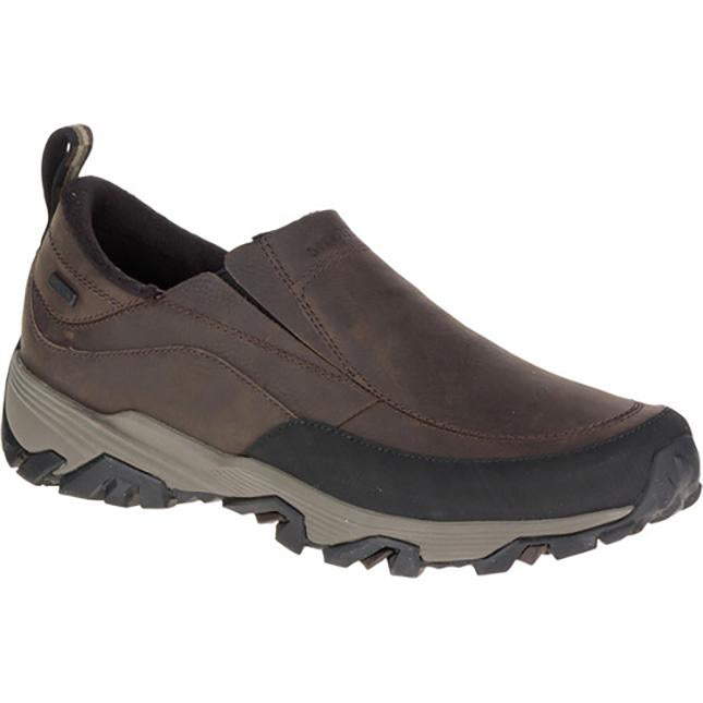 Men's Merrell Coldpack Ice+Moc Waterproof in Brown sku: J49821