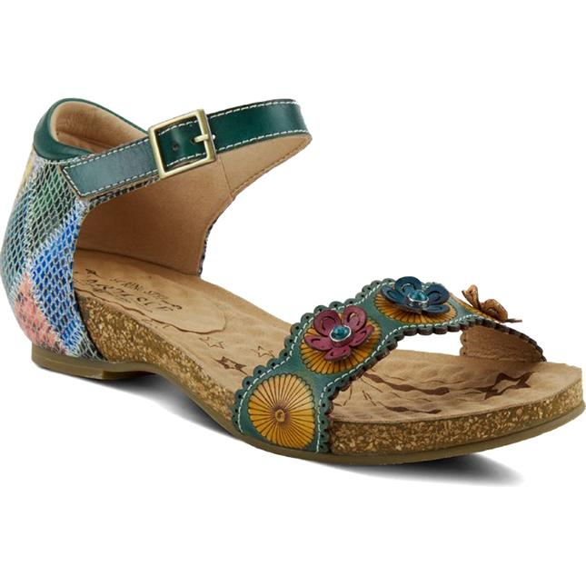 Women's L'Artiste Meliza in Teal Multi sku: MELIZA-TLM