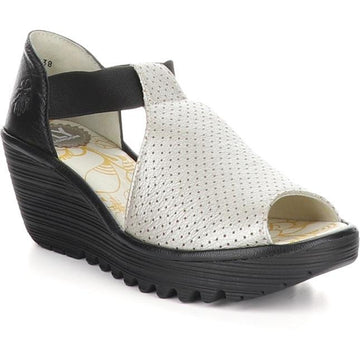 Women's Fly London Yemo in Silver/ Black sku: P501146-004
