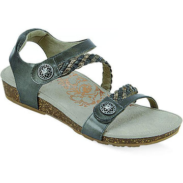 Womens Aetrex Jillian In Gunmetal