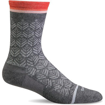 Womens Sockwell Bunion Crew In Charcoal