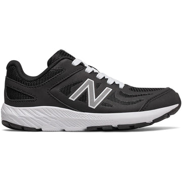 Women's New Balance YK519PB Lace in Black/ White