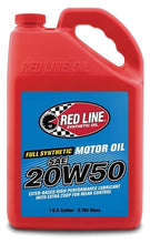 Load image into Gallery viewer, Red Line - 20W50 Motor Oil - quart