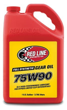 Load image into Gallery viewer, Redline - 75W90 GL-5 Gear Oil - quart
