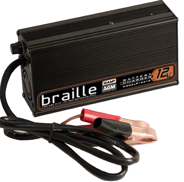 Braille 12310- Braille 12V 10 AMP AGM Charger