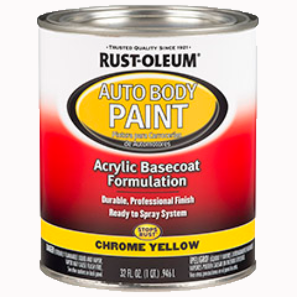 Rust-oleum Auto Body Paint - 1 Qt.