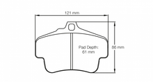 Load image into Gallery viewer, Pagid 2405 Brake Pad
