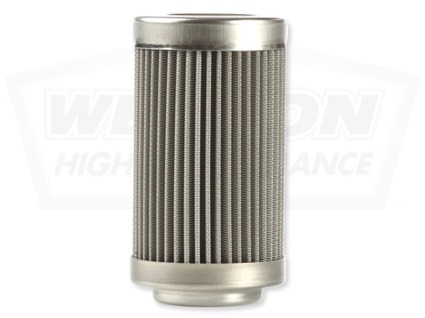 Weldon In-Line Fuel Filters - Stainless Steel -  -8 ORB Ports