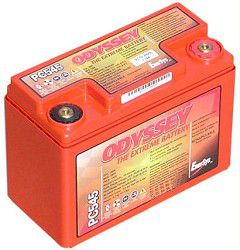 Odyssey PC 545MJ Sealed Drycell / Deep Cycle Motorcycle Battery