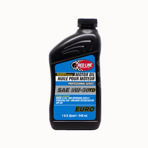 Red Line Professional - Series 5W30TD Euro Motor Oil