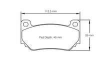 Load image into Gallery viewer, Pagid 4349 Brake Pad