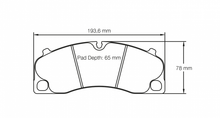 Load image into Gallery viewer, Pagid 4908 Brake Pad