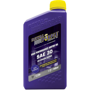 Royal Purple SAE 30 High Performance Synthetic Motor Oil