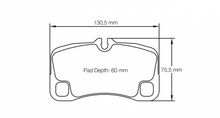 Load image into Gallery viewer, Pagid 8008 Brake Pad