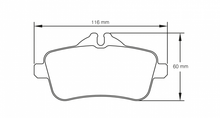 Load image into Gallery viewer, Pagid 8189 Brake Pad