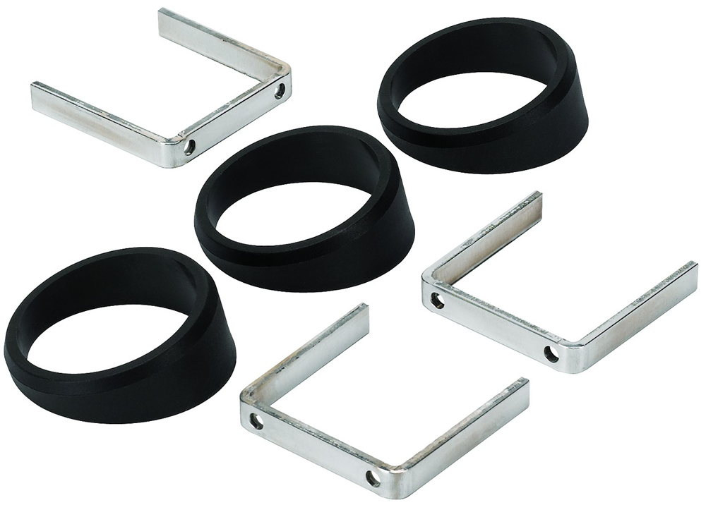 Auto Meter Angle Rings 3pcs. Black