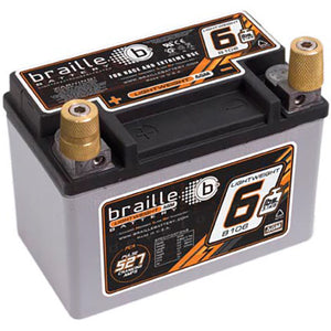 Braille B106 Carbon Fiber / Non-Carbon Fiber Race Battery