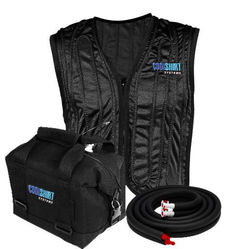 Coolshirt Drag Pack Complete System and Vest