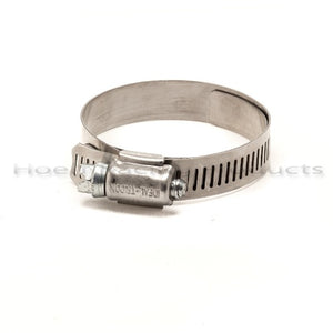 "Smooth-Bore Duct Hose Clamps 1-1/4"" - 2-1/2"" Diameters"