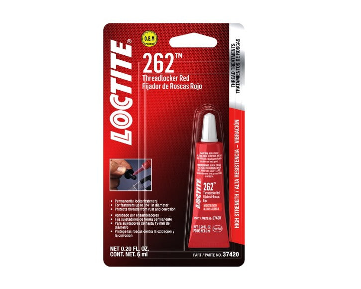 Loctite Threadlocker 262™ - (6 ml / 36 ml)