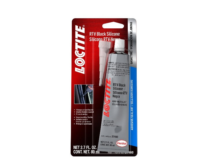 Loctite RTV Black Silicone - 80 ml. tube