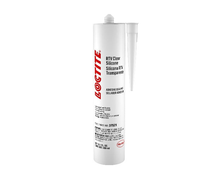 Loctite RTV Clear Silicone - 300 ml. cartridge