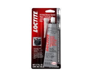 Loctite RTV Red Silicone Gasket Maker - 80 ml. tube