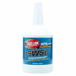 Red Line - 15W50 Motor Oil - quart