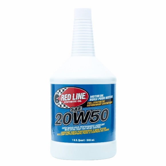 Red Line - 20W50 Motor Oil - quart