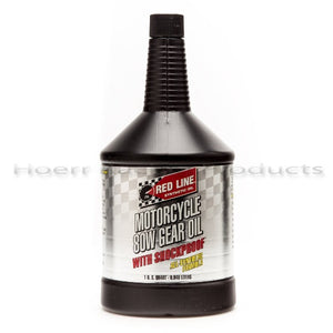 Red Line - 80W Motorcycle Gear Oil w/ Shockproof