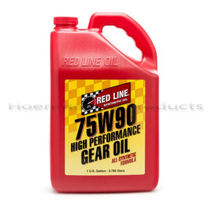 Red Line - 75W90 GL-5 Gear Oil - gallon