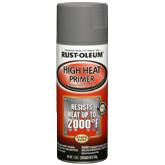Rust-oleum High Heat Primer Spray - 12 oz. Spray Can