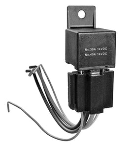 Setrab Bosch-Type 5-Pin 30/40A Power Relay and Socket