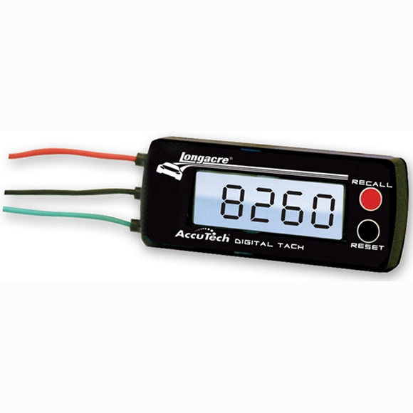 Longacre AccuTech™ Digital Tachometer - 19K