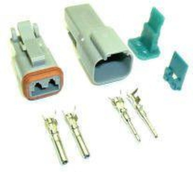 Fastronix Solutions Sealed 2-Pin Connector Kit (Deutsch style)