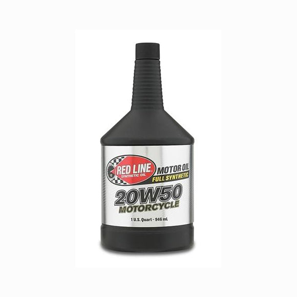 Red Line 20W50 Motorcycle Oil