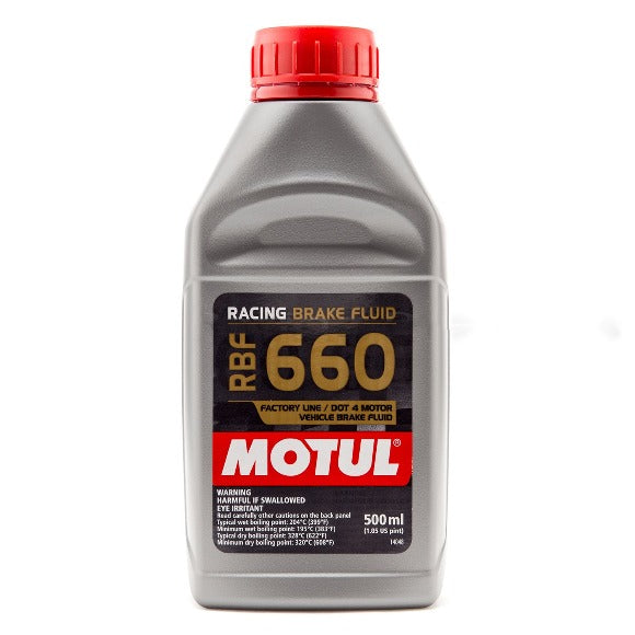 Motul 660 Brake Fluid - 500 ml Bottle